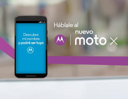 Háblale al nuevo Moto X