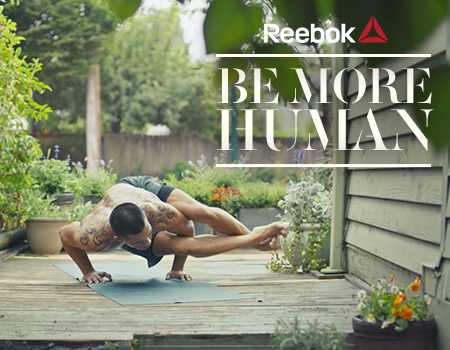 Be More Human, Reebok